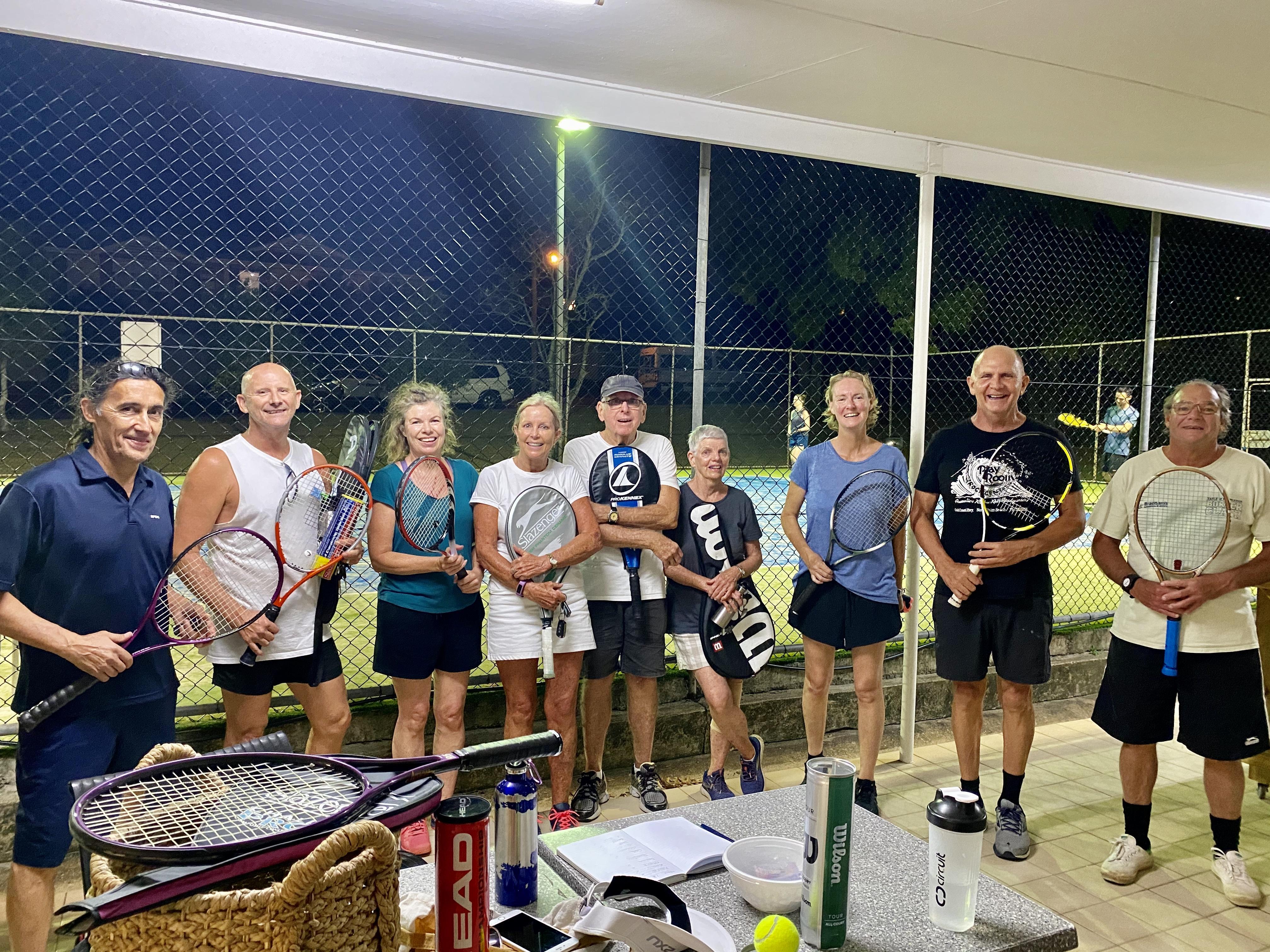 PALM BEACH - Tennis on 11th Avenue Palm Beach All welcome