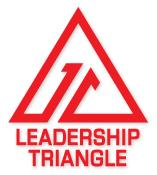 Leadership Triangle Over Lunch with Master Sgt. Cedric...