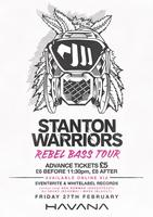 Stanton Warriors - 'Rebel Bass' World Tour