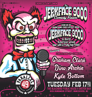 Jerkface Comedy Fiasco at The Blackbird