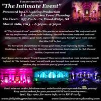 """The Intimate Event"" - JB Lighting Production and Land..."