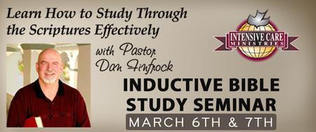 Inductive Bible Study Seminar