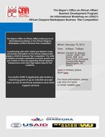 OAA's Business Development Workshop: USAID's African...