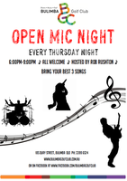 Thursday Night OPEN MIC