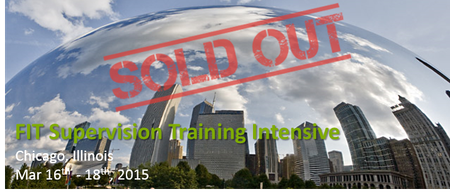 FIT Supervision Training Intensive 2015