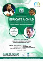ROAD TO JANNAH -EDUCATE A CHILD TOUR (BIRMINGHAM)
