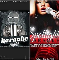 ISLAND SPORTS BAR & GRILL'S SPOTLIGHT KARAOKE MONDAYS