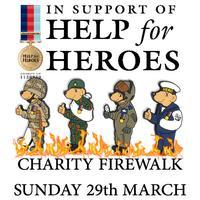 Help For Heroes Charity Firewalk