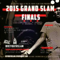 GRAND SLAM FINALS for the 2015 DC Youth Slam Team