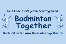 www.BadmintonTogether.de - Team Robert logo