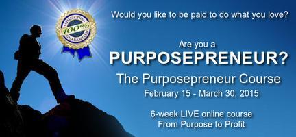 The Purposepreneur Course - ONLINE
