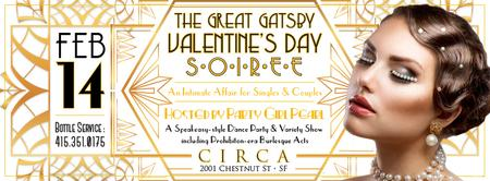 The Great Gatsby Valentine's Day Cabaret