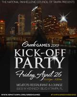 TAMPA GREEK WEEKEND KICK-OFF PARTY!!