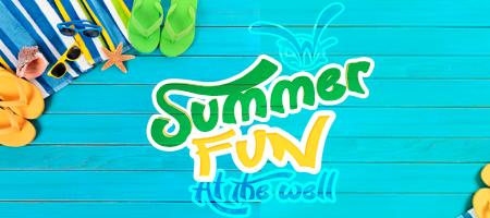 """Summer Fun at the """"Well"""""""