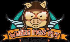 Where Pigs Fly Farm Sanctuary logo