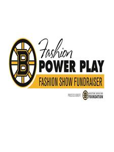 The Boston Bruins Foundation, Copley Place, Kathy Benharris logo