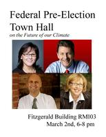 Federal Pre-Election Town Hall on Climate Change
