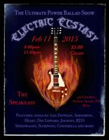 Electric Ecstasy Show at Spreakeasy