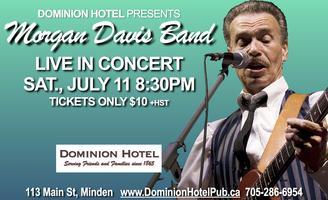Morgan Davis Band LIVE!