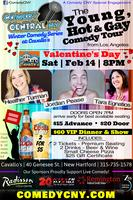 LGBT Valentine's Day! Young, Hot, & Gay Comedy Tour...