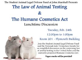 The Law of Animal Testing & The Humane Cosmetics Act:...