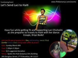 Zumba Fitness Fundraiser: Let's Send Laci to Haiti
