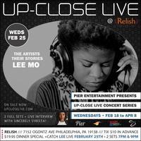 Pier Entertainment UP-CLOSE LIVE :: Lee Mo