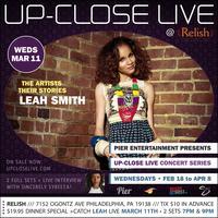 Pier Entertainment UP-CLOSE LIVE :: Leah Smith