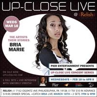 Pier Entertainment UP-CLOSE LIVE :: Bria Marie