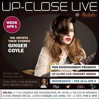 Pier Entertainment UP-CLOSE LIVE :: Ginger Coyle