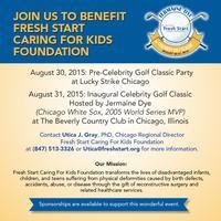 Fresh Start Caring For Kids Foundation Celebrity Golf...