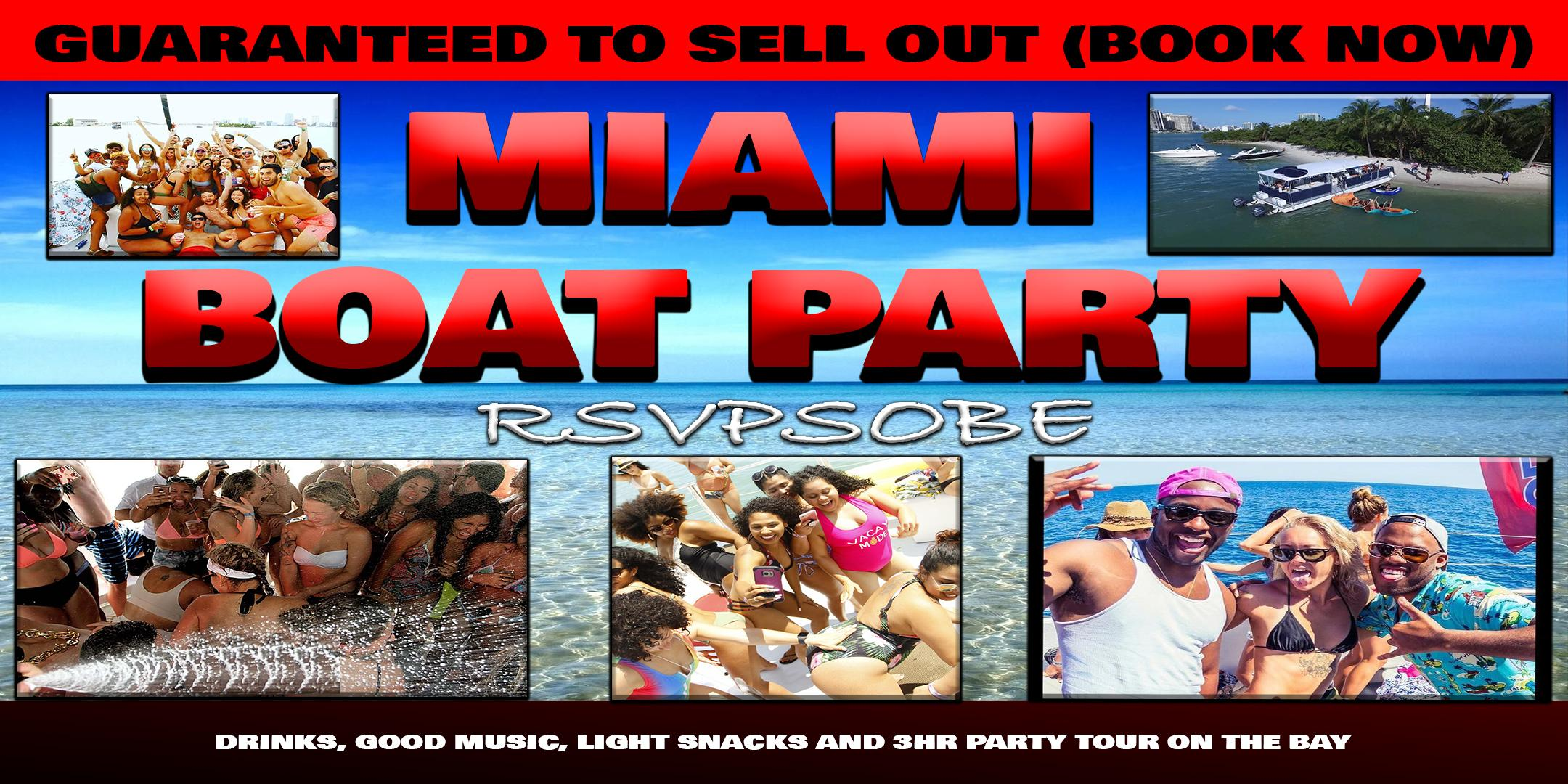 Encore Night Boat Party (first 50 people only) WILL SELL OUT!!! EARLY RSVP