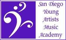 San Diego Young Artists' Music Academy  logo
