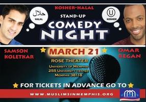 Kosher and Halal Comedy Night