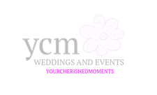 YCM Weddings and Events (Your Cherished Moments LTD) logo