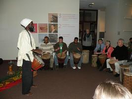 Black History Month Drum Circle & Bake Sale