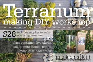 Terrarium Making DIY Workshop @ Urban Bazaar