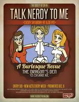 Talk Nerdy To Me: A Weekly Burlesque Revue featuring...