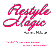 Restyle Magic Hair and Makeup logo