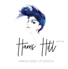 Harris Hill Hair and Makeup Design logo