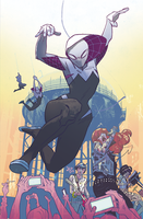 HEROES SPIDER-GWEN AFTER PARTY w/ Married With Sea...