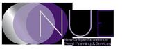 """N.U.E. Event Planning & Services """"New Unique Experiences""""  logo"""