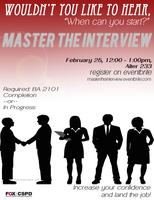 Master the Interview 2.25.15