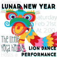 Lunar New Year Lion Dance Performance!