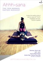 Ahhh-sana / Yoga Thai Massage Partner Workshop