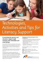 Technologies, Activities and Tips for Literacy Support