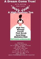 Debutante Workshop at The St. Regis Hotel- High Tea