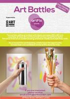 artFix Art Battle, supported by Cass Art
