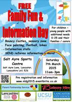 Family fun & information day for children/young people...