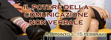 IL POTERE DELLA COMUNICAZIONE NON VERBALE